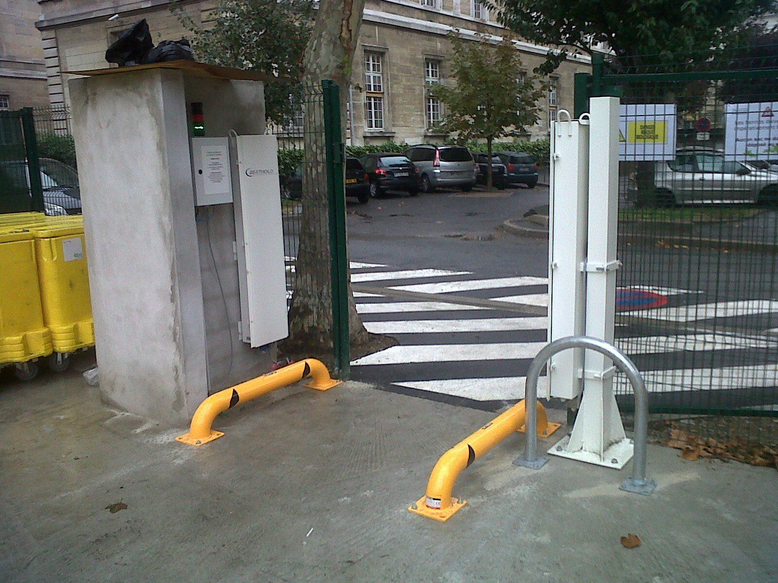 Berthold Détecteur Radioactivité Gammascan