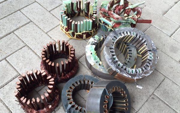Brise Moteurs Electriques Stator Cuivre