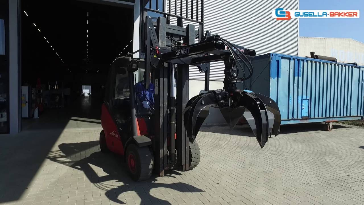 Grappin chariot élévateur Grabit Gusella Bakker