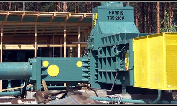 Harris PresseTGS Ferrailles