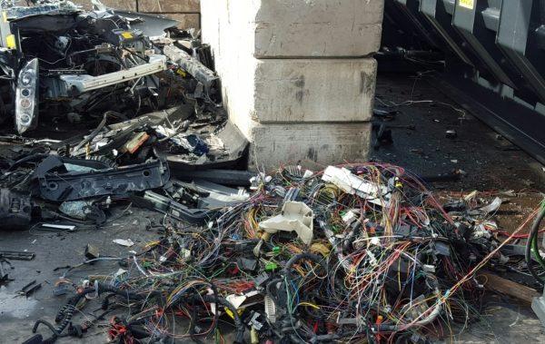 Pince depollution voitures SAS Forks