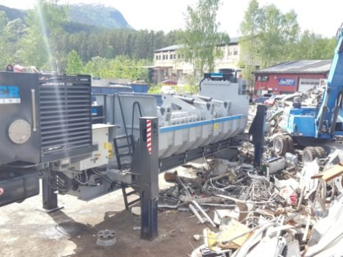Presse Cisaille Ferrailles Roter RR
