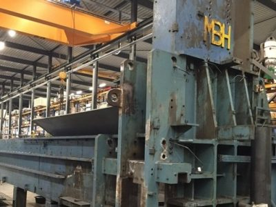 Used Scrap baler Bronneberg SP  cropped