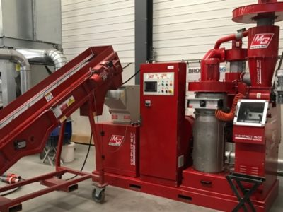 used cable granulator cropped